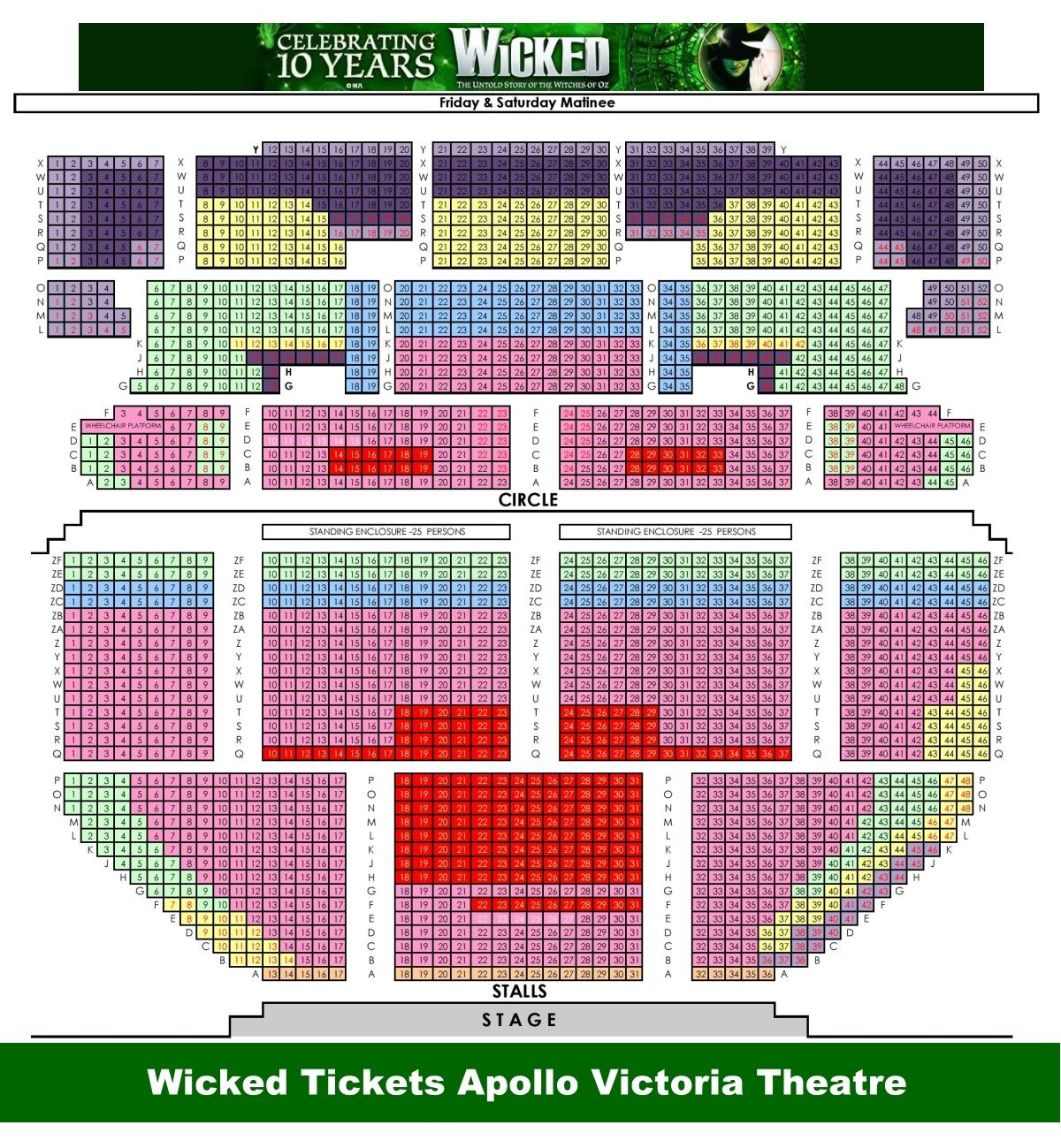 Pin On London Theatres Seating Plans
