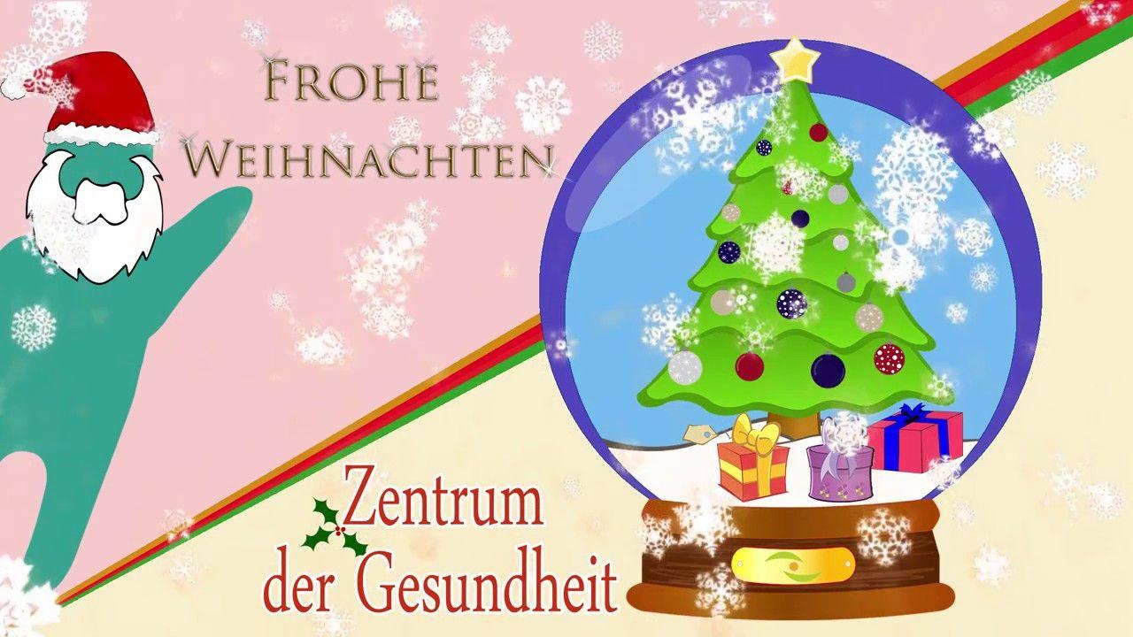 Frohe Weihnachten wünscht das Zentrum der Gesundheit -> https://www ...