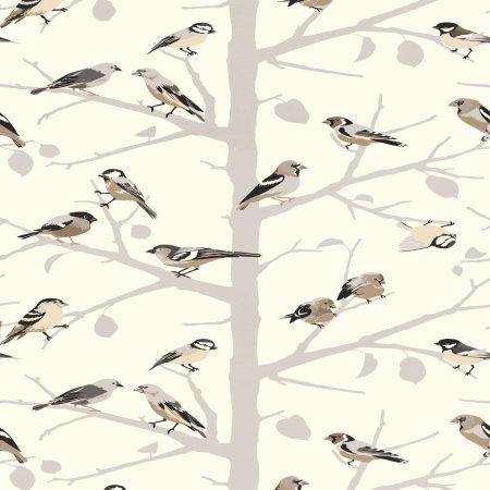 Schumacher Wallpaper Bird wallpaper, Summer wallpaper