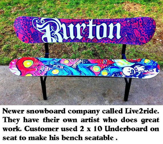 Awe Inspiring Metal Leg Set For Snowboard Bench With Back Or By Gmtry Best Dining Table And Chair Ideas Images Gmtryco