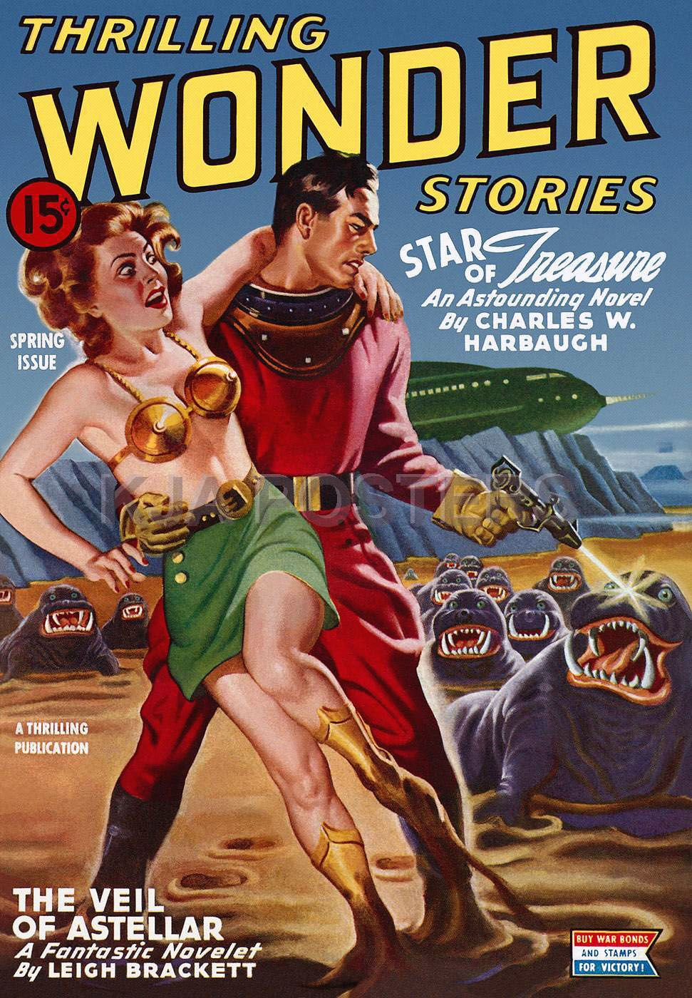 Retro Sci-Fi Magazine cover #50s #60s
