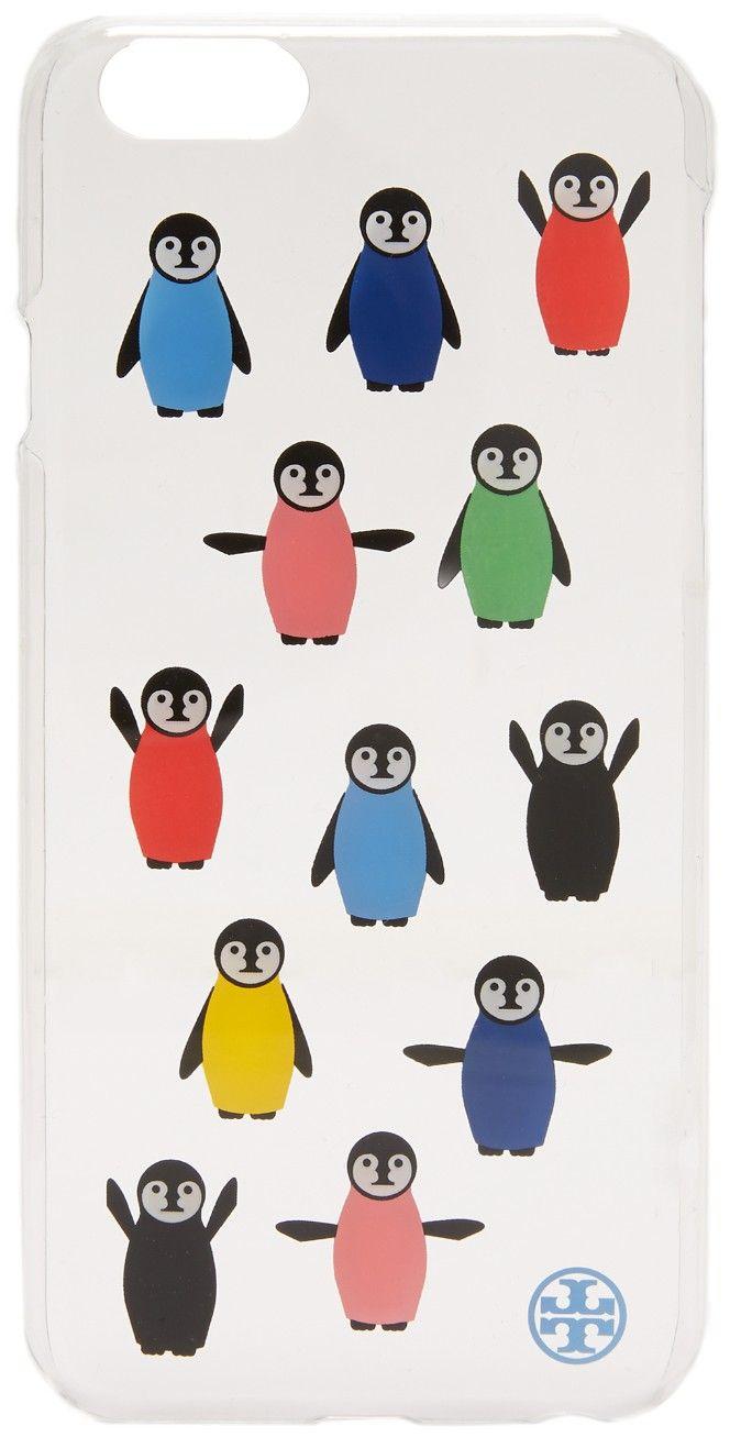 Tory Burch Penguin Print Hardshell iPhone 6 / 6s Case | SHOPBOP