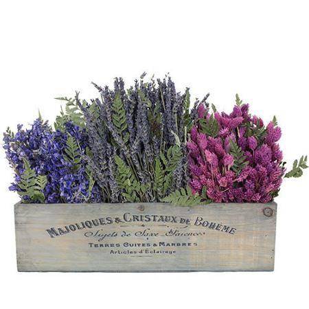 Urban Florals Spring / Everyday French Garden Walk Desk Top Plant in Planter - Walmart.com