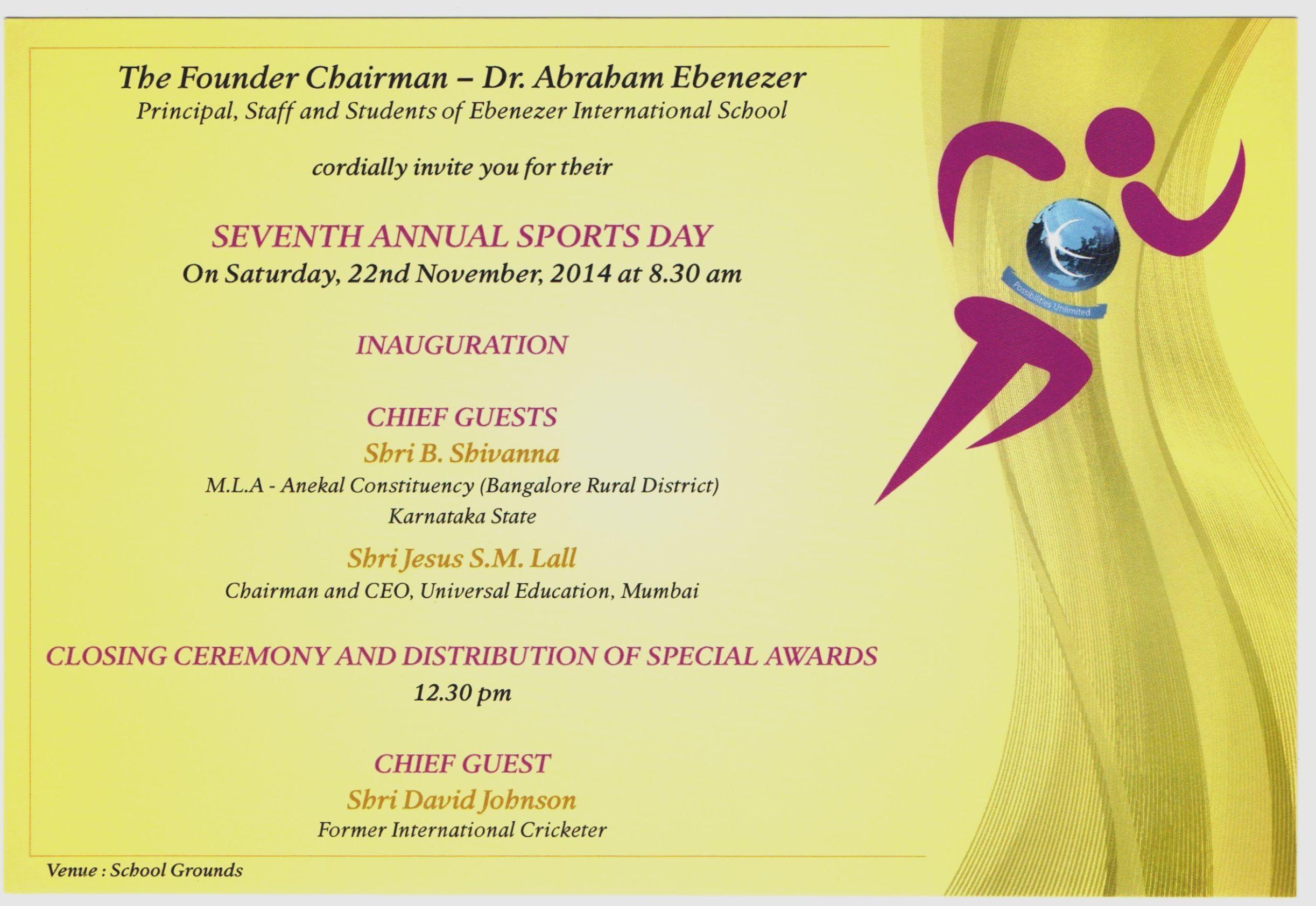 7 Sports Day Card Invitation Sports Day Invitation Sports Day School Sports Day