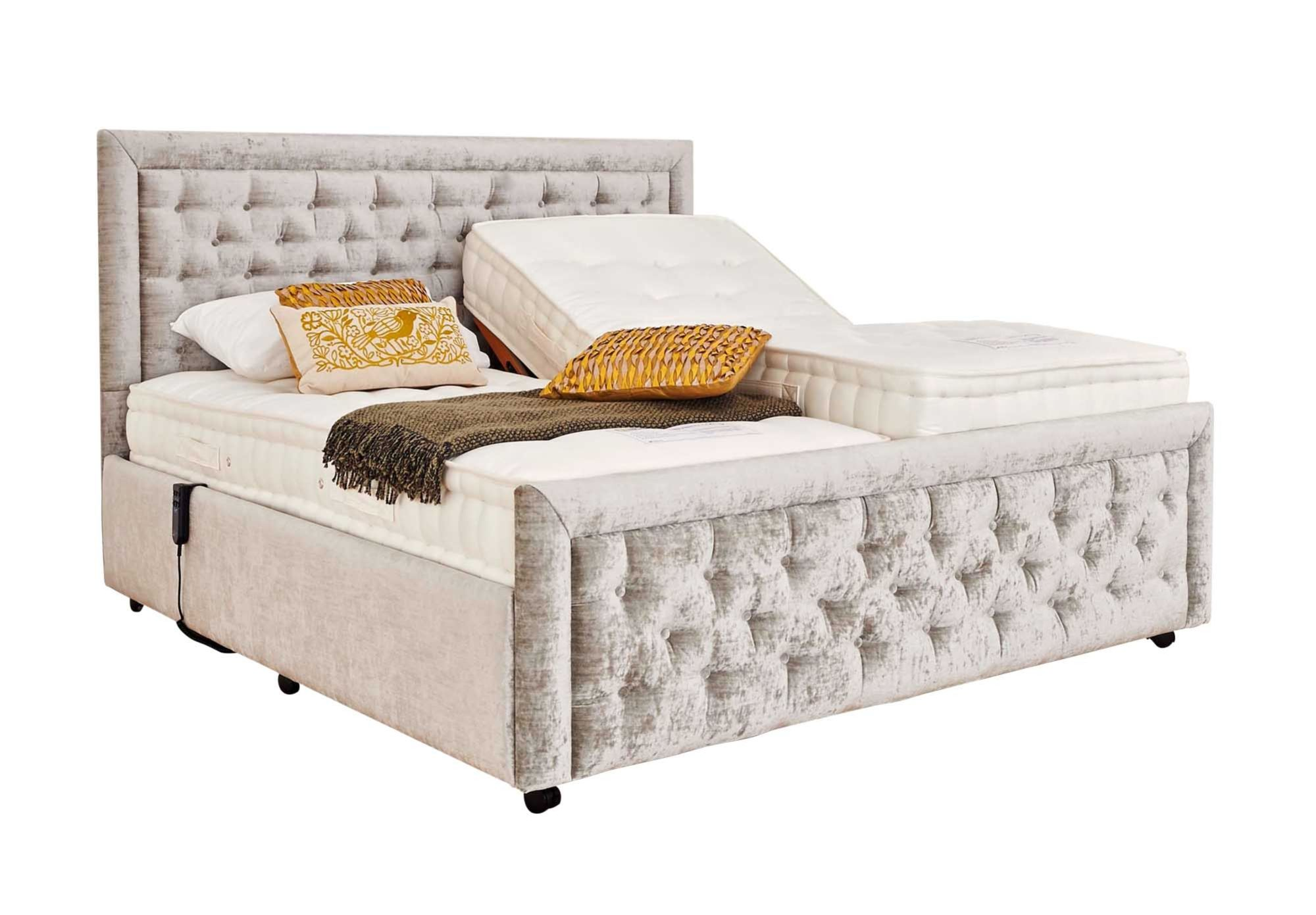 Mibed Claremont King Size Adjustable Bed Furniture Village Mibed Claremont Adjustable Divan