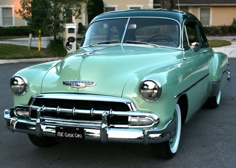 1952 Chevrolet Deluxe Mjc Classic Cars Pristine Classic Cars