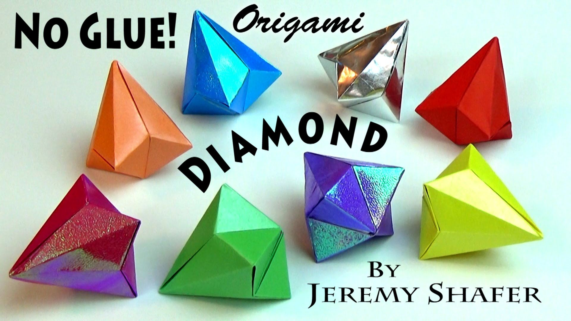 How to Make an Origami Diamond (with Pictures) - wikiHow | 1080x1920