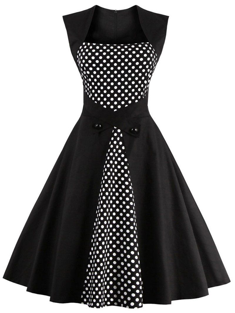 e66c23ce4 Polka Dot Flare Semi Formal Dress | Love being a Lady!!! | Dresses ...