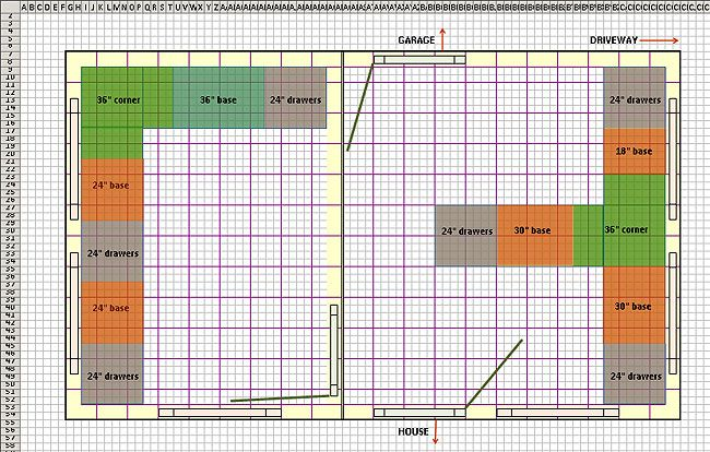 Use Excel as an Architectural Design Tool Free floor