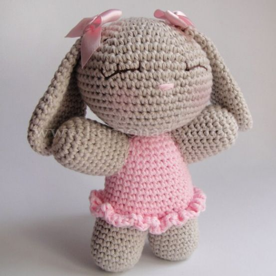 Baby rabbit!! | Ganchillo | Pinterest | Patrones amigurumi ...