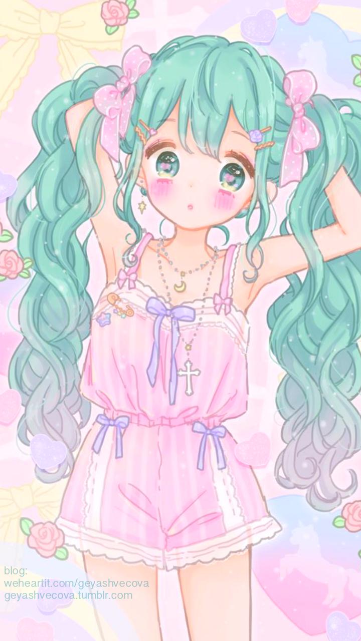 2018 年の anime art baby baby doll baby girl background