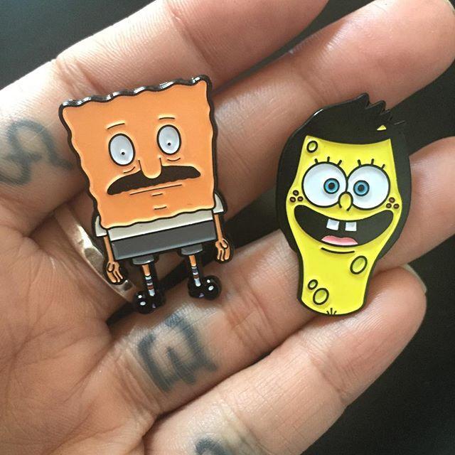 Bob\'s Burgers/SpongeBob mashup pins OMG @eludevisibility | Ear Wire ...