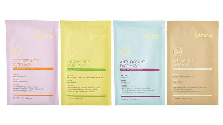 karuna sheet masks