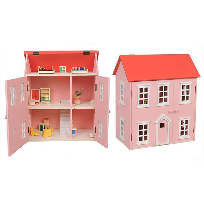 Li Pink Dollhouse Has Plenty Of Room For Multiple Children To Enjoy