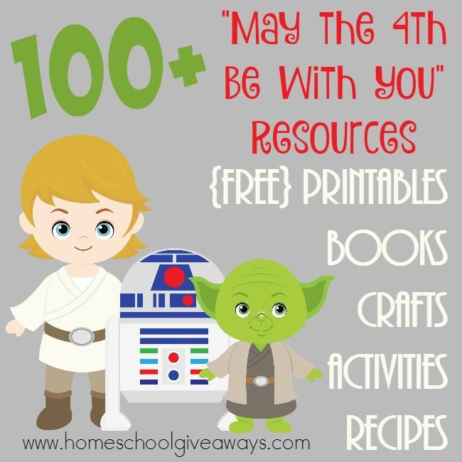 "100+ ""May The 4th Be With You"" Resources"