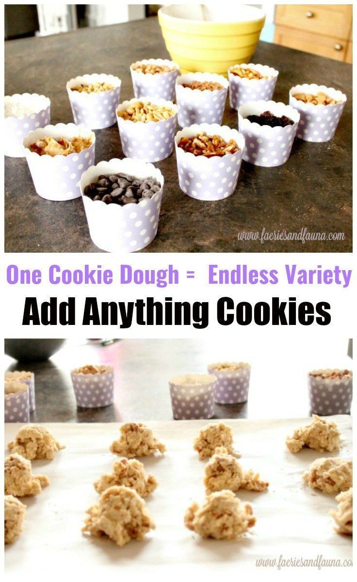 One Cookie Dough Makes an Endless Variety of Cookies ...