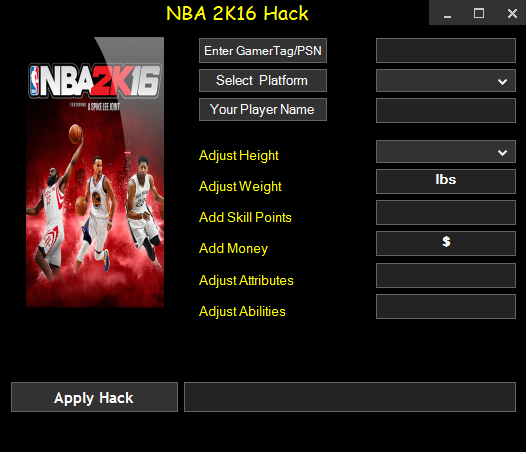 Nba2k16 Ps3 Ps4 Xbox360 Xboxone Unlimited Skill Points My Player Mod Download All Platforms Point Hacks Skills Hacks