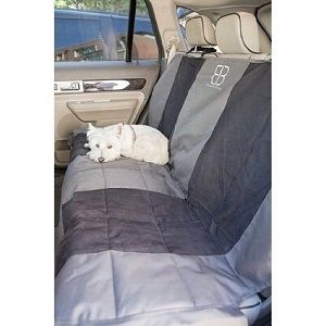 Petego Dog Car Seat Protector for Rear Seat - XL rear seat protector with anti-skid backing.