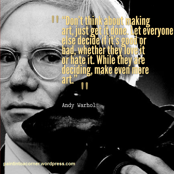 Artist Quote Andy Warhol Artist quotes, Andy warhol