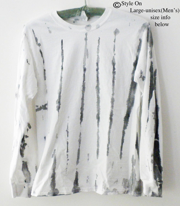 Black t shirt grunge - Tie Dye Tee Shirt Black Tee Shirt White Tee Shirt Painted Tee Shirt