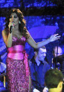 Najwa Karam by TONY YAACOUB #fashion #dress #design #celebrities