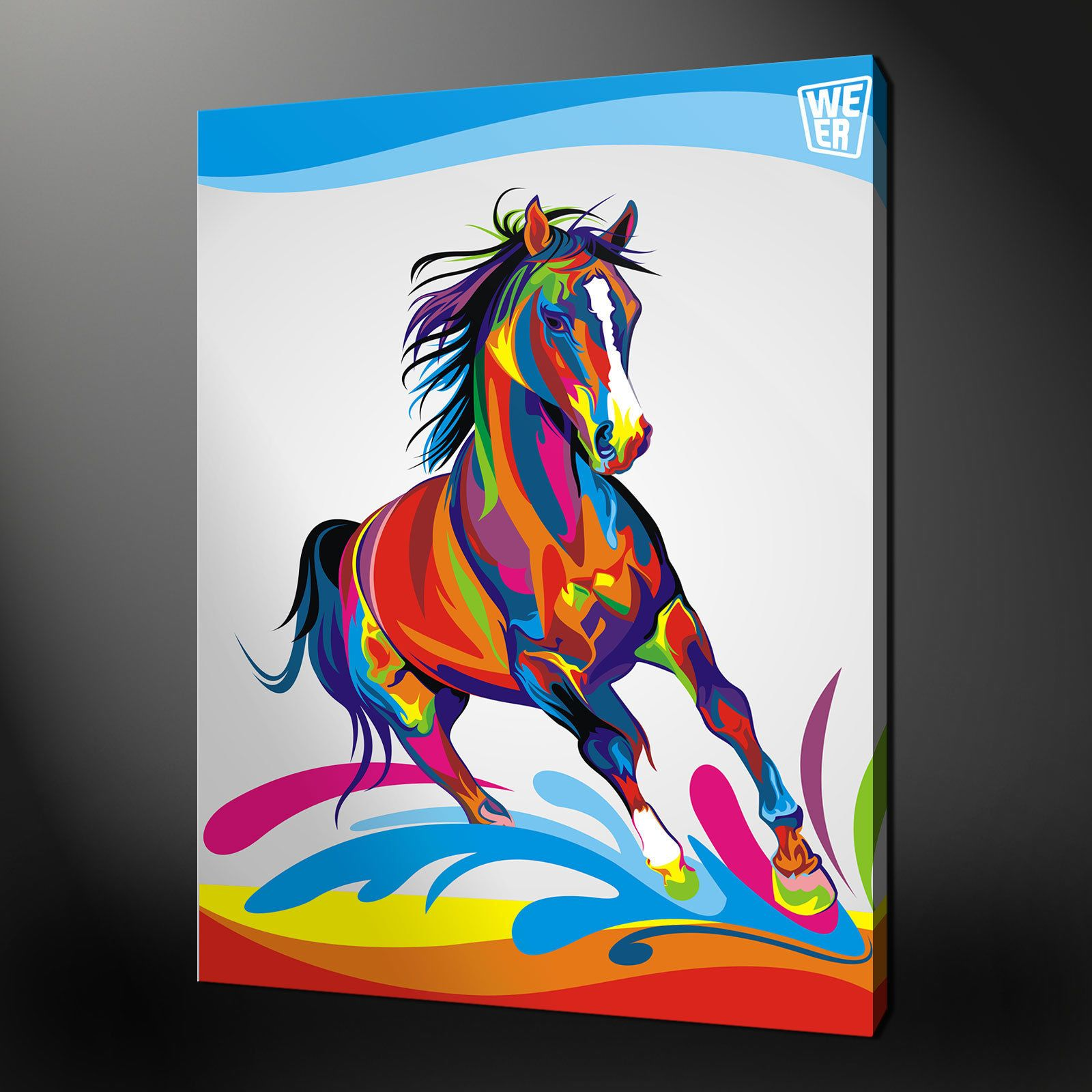 Abstract Horse Art Uk