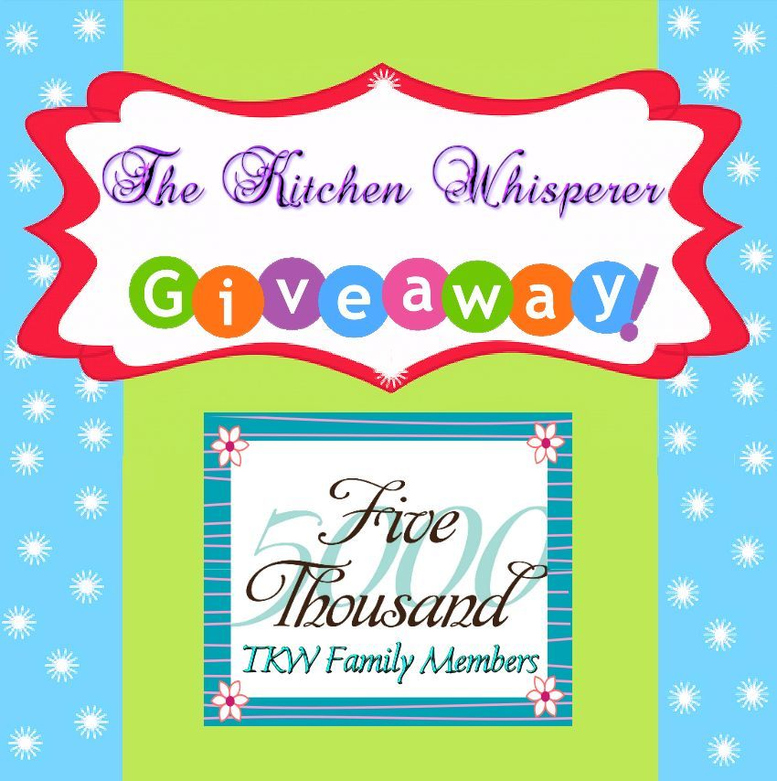 The Kitchen Whisperer Giveaway!!!
