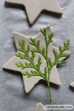 Décorations en argile pour sapins de Noël - Ciloubidouille