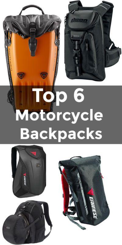 ba14094a7af3 Top 6 Motorcycle Backpacks