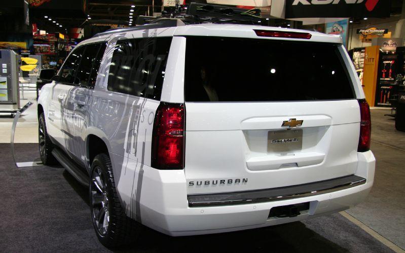 2016 Chevrolet Suburban Back Chevrolet Suburban Chevrolet Suburban