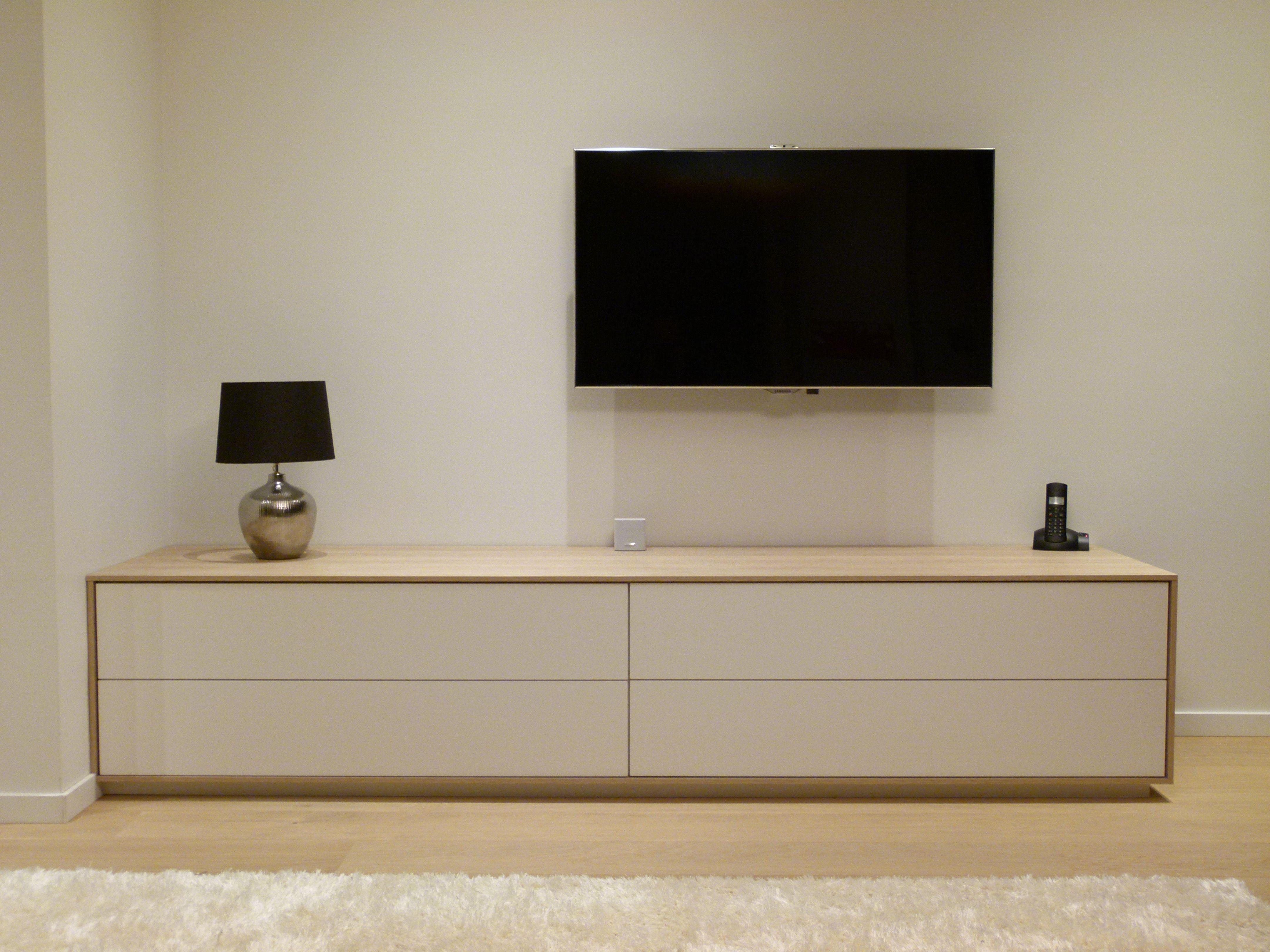 Meuble Tv Design Apparte Perso Pinterest Meuble Tv Tv Et  # Mesure Meuble Tv Expedit