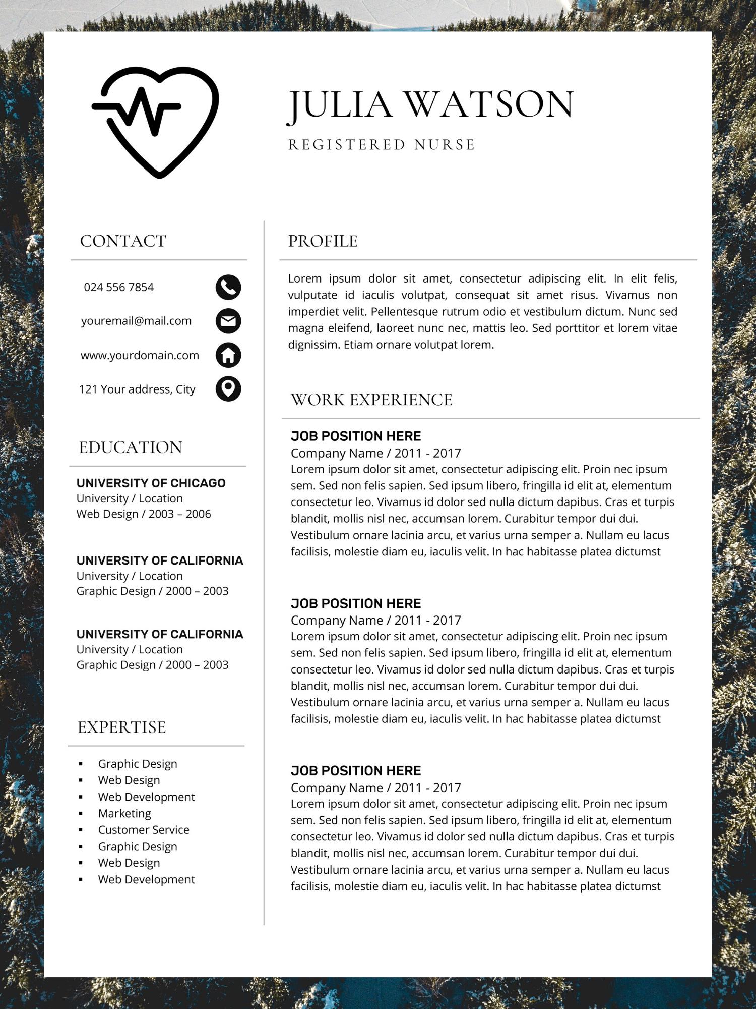 Functional Resume Resume examples, Functional resume