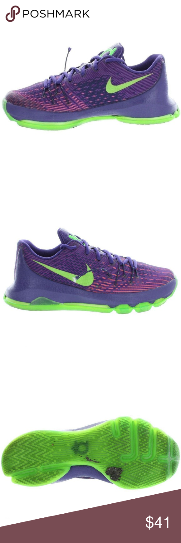official photos 70ff1 b9673 Nike Kids KD 8 Basketball Shoes Size 6Y Medium Product Name ...
