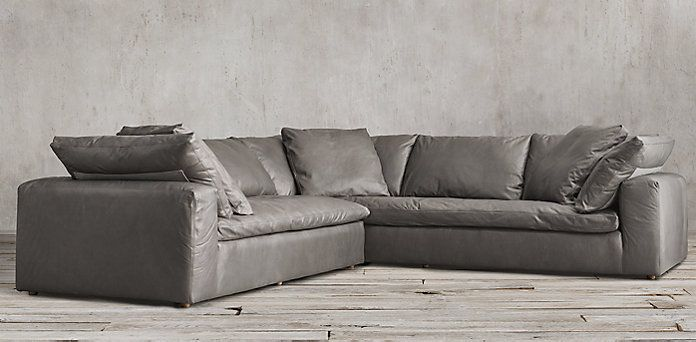 Cloud Track Arm Sectional | RH · Leather Sectional SofasDiapersSleeper SofasRestoration HardwareIdahoTrack : restoration hardware sectional sofas - Sectionals, Sofas & Couches