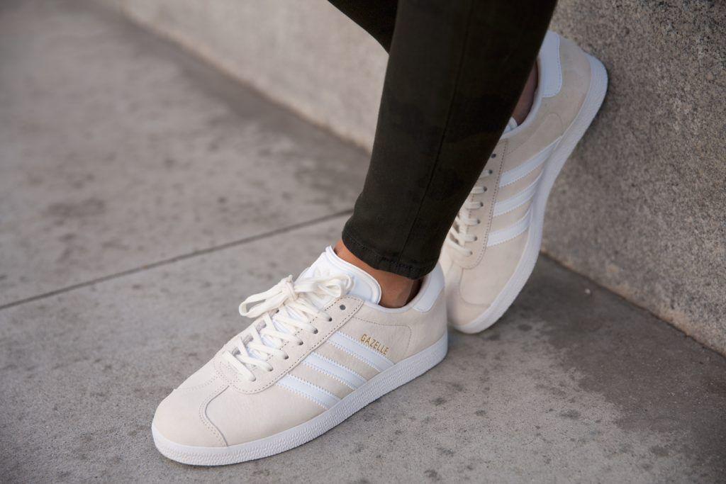 adidas Gazelle - cream | Adidas gazelle, Sneaker collection ...