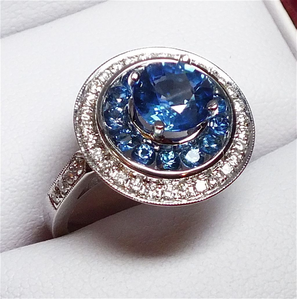 sapphire img estate products band diamond designs and silverscape