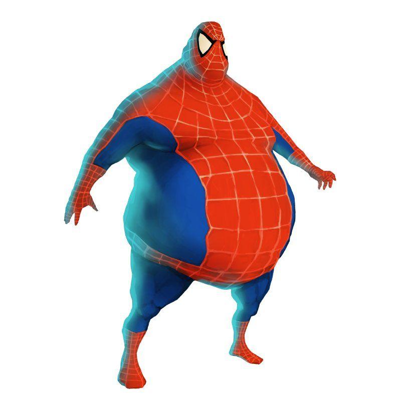 jaja fat spiderman marjie s board pinterest spiderman and rh pinterest com Fat Wolverine Fat Venom