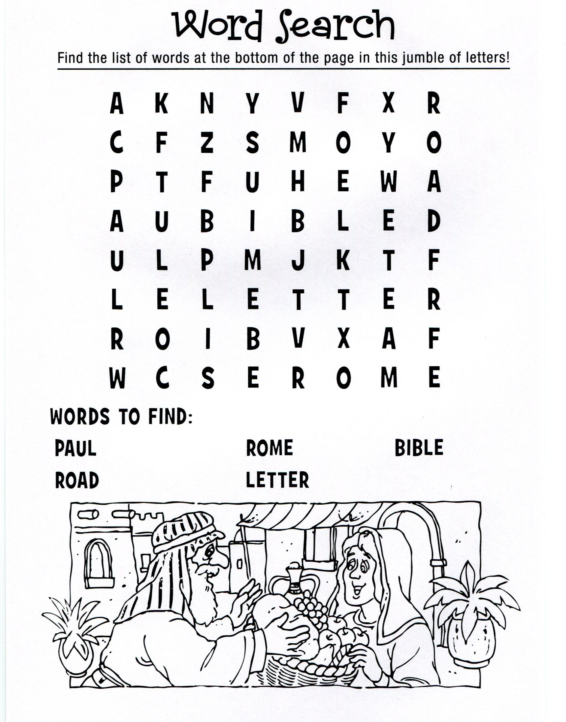 Paul And Silas Coloring Page Google Search Sunday School 5 7