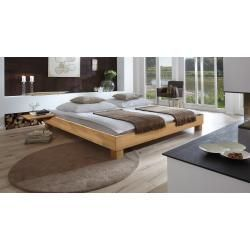 Photo of Futon bed / solid wood bed pine solid wood solid nut colors A10, incl. Slatted frame – dimensions 140 x – io.net/interior
