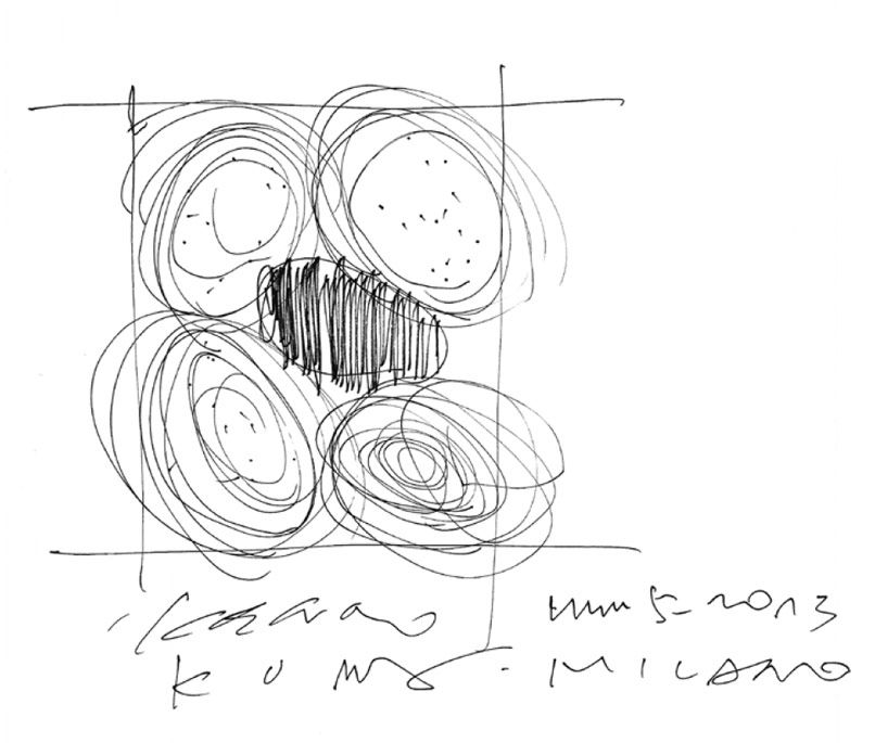 sketches by kengo kuma - Google Search