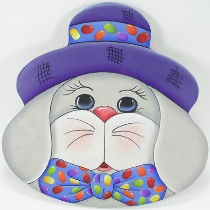 E. Bunny Face Plate DOWNLOA