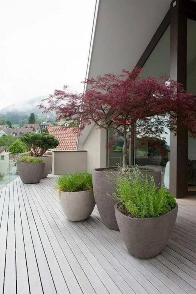 √94 Creative Ideas for garden terrace design vines #garden ...