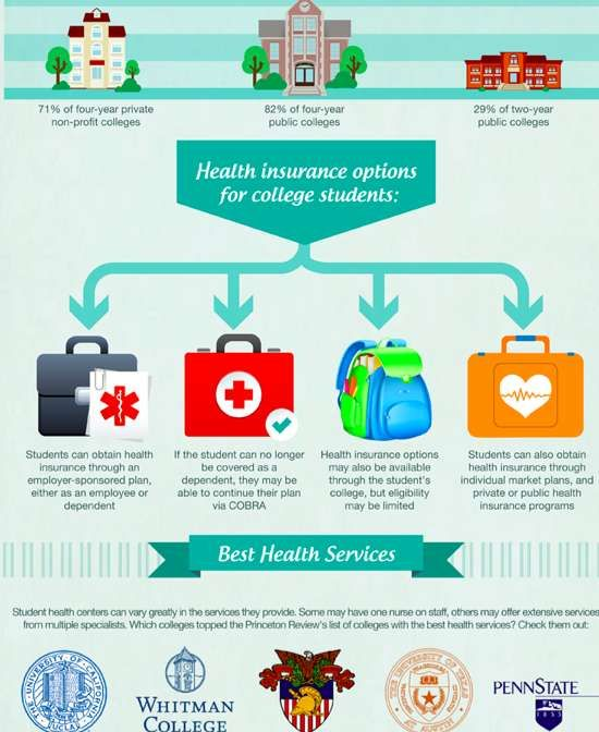 Student Wellness Charts How To Stay Healthy Health Insurance