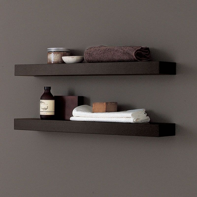 Mieke....these are the floating shelves I was thinking of.............Wenge floating shelves