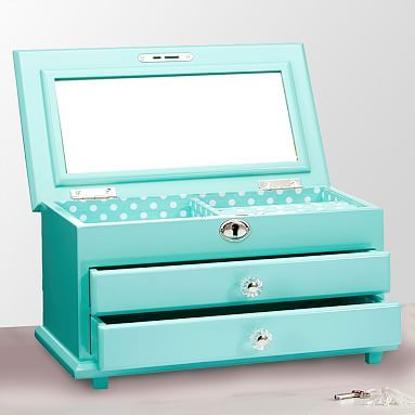 Teen Jewelry Box Simple Chloe Jewelry Box Pool Box Dorm Room And Room