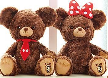 Mickey and Minnie version of UniBEARsity