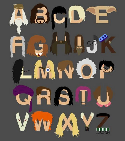 Harry Potter Character Font