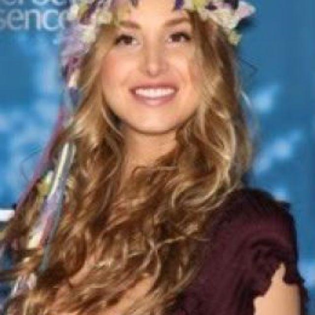 Hippie flower headband.