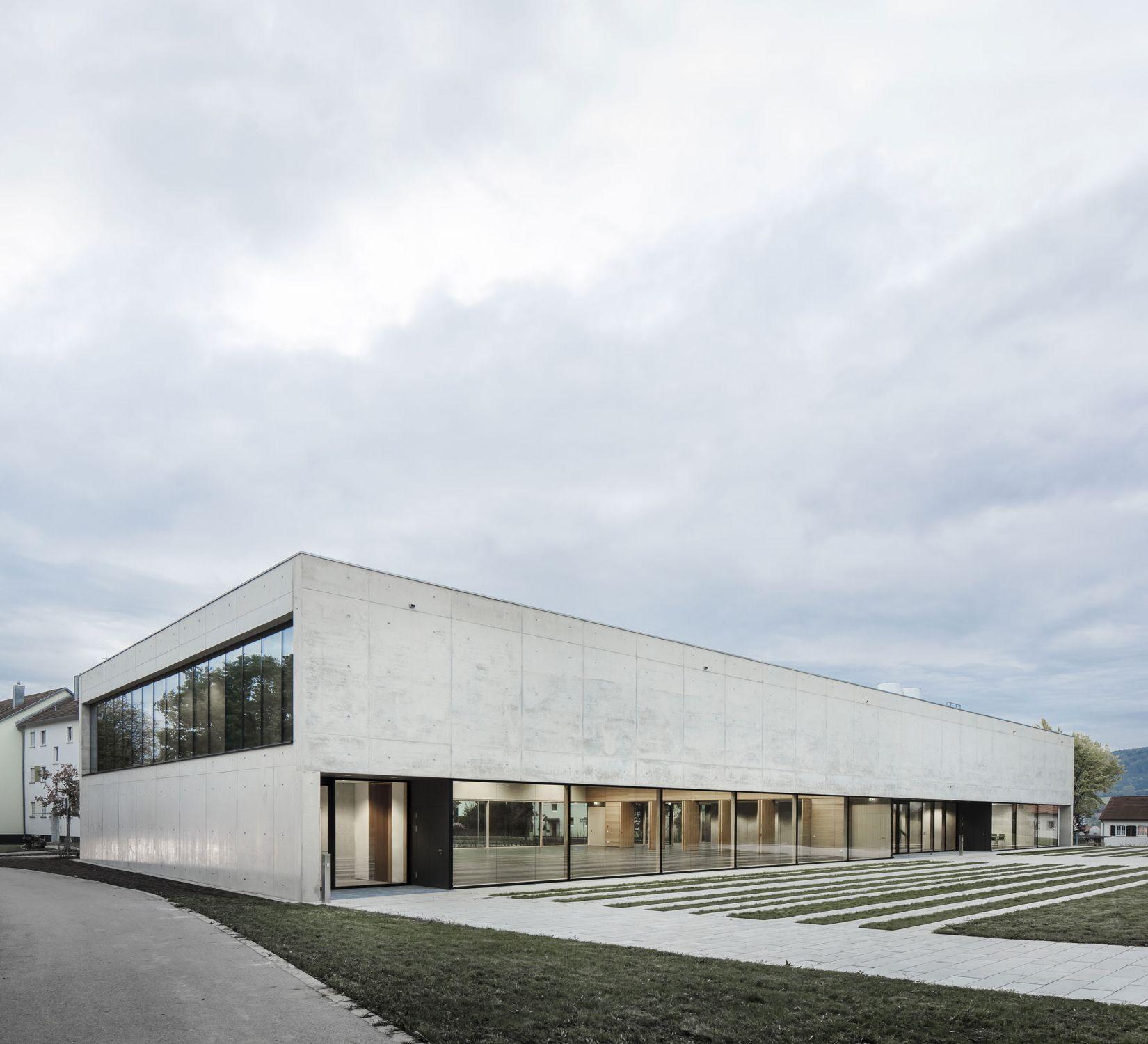 Architekt Aalen aula für aalen hörsaalgebäude mgf übergeben arch and