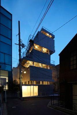 ChuoArchi, Jinguumae Building